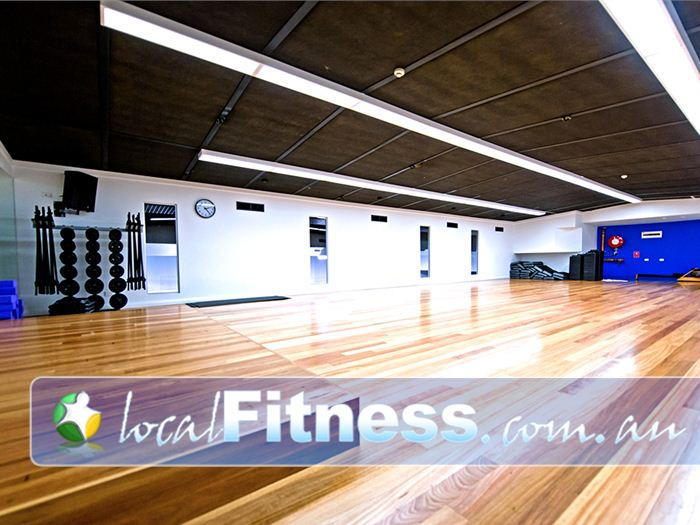 Genesis Fitness Clubs Near Warabrook Dedicated Mayfield group fitness class studio.
