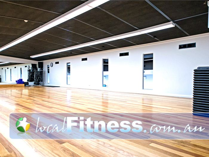 Genesis Fitness Clubs Near Callaghan The spacious Genesis Mayfield aerobics studio.