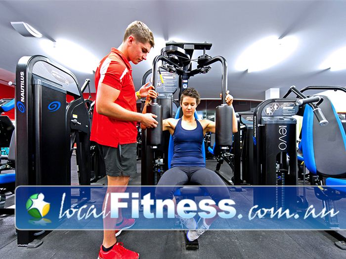 Genesis Fitness Clubs Near Callaghan The spacious 24 hour gym environment in Mayfield.