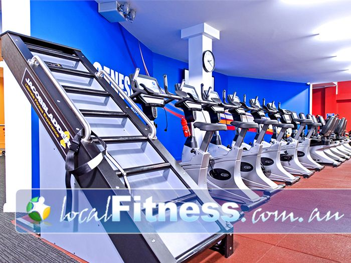 Genesis Fitness Clubs Near Warabrook 24 hour Mayfield gym and cardio access.