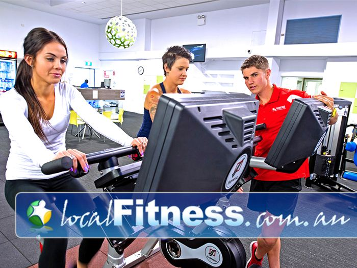 Genesis Fitness Clubs Near Callaghan The latest technology including the expresso interactive cycle bikes.