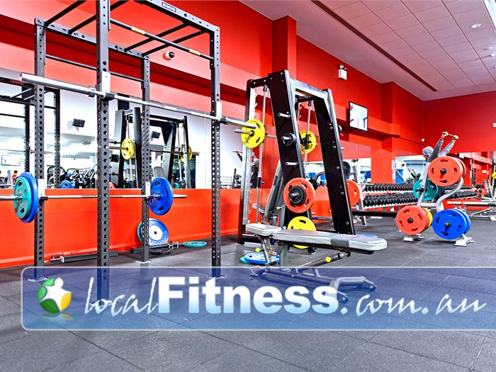 Genesis Fitness Clubs Mayfield Our 24 hour Mayfield gym provides a spacious free-weights training zone.