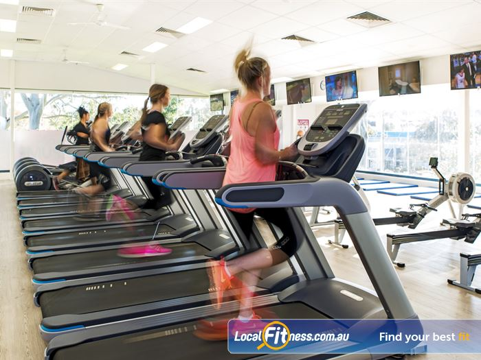 Fernwood Fitness Gym Hornsby  | Welcome to the bright and airy Fernwood Castle