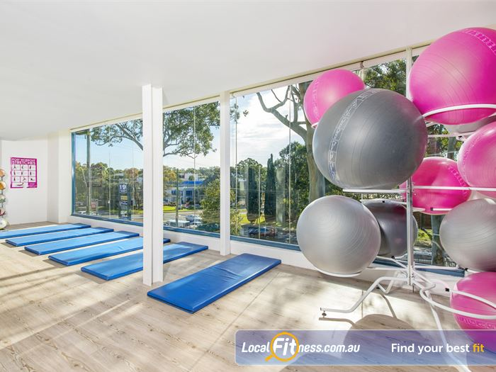 Fernwood Fitness Gym North Rocks  | Beautiful views while you train at Fernwood Castle