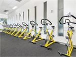 Burn calories fast with Castle Hill cycle classes.