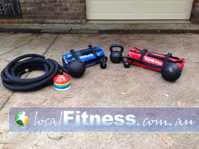 Elite Outdoor Fitness Gym Epping  | Our strength and conditioning toys designed to challenge