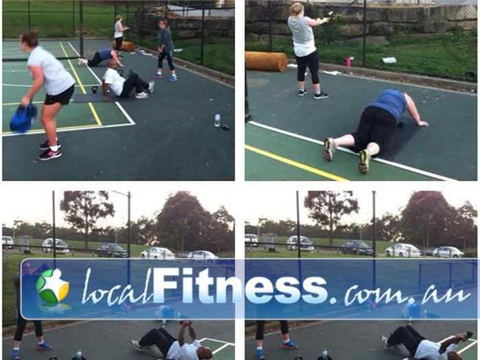Elite Outdoor Fitness Near Dural Cherrybrook group training in the great fresh outdoors, not stuck indoors in the gym.