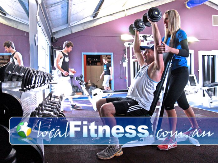 Plus Fitness Health Clubs Gym Kellyville  | A range of free-weights to suit all levels