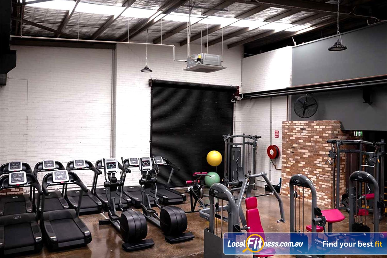Dukes 24hr Gym Richmond Full range of cardio including cross-trainers, rowers and treadmills.