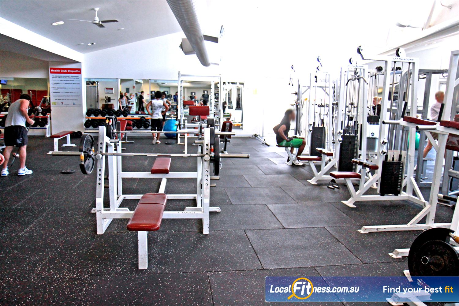 Ascot Vale Leisure Centre Ascot Vale Our Ascot Vale gym facility spans over 1000 sq/m!