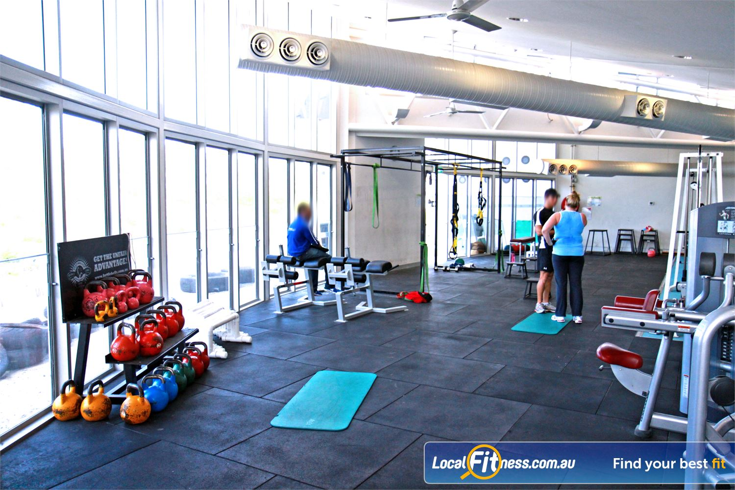 Ascot Vale Leisure Centre Ascot Vale Specialised and dedicated strength and crossfit training facility.