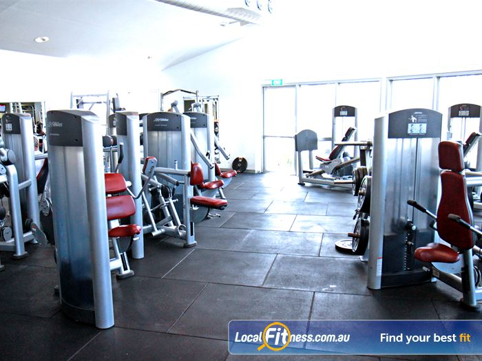 Ascot Vale Leisure Centre Gym Newport  | State of the art equipment from Life Fitness