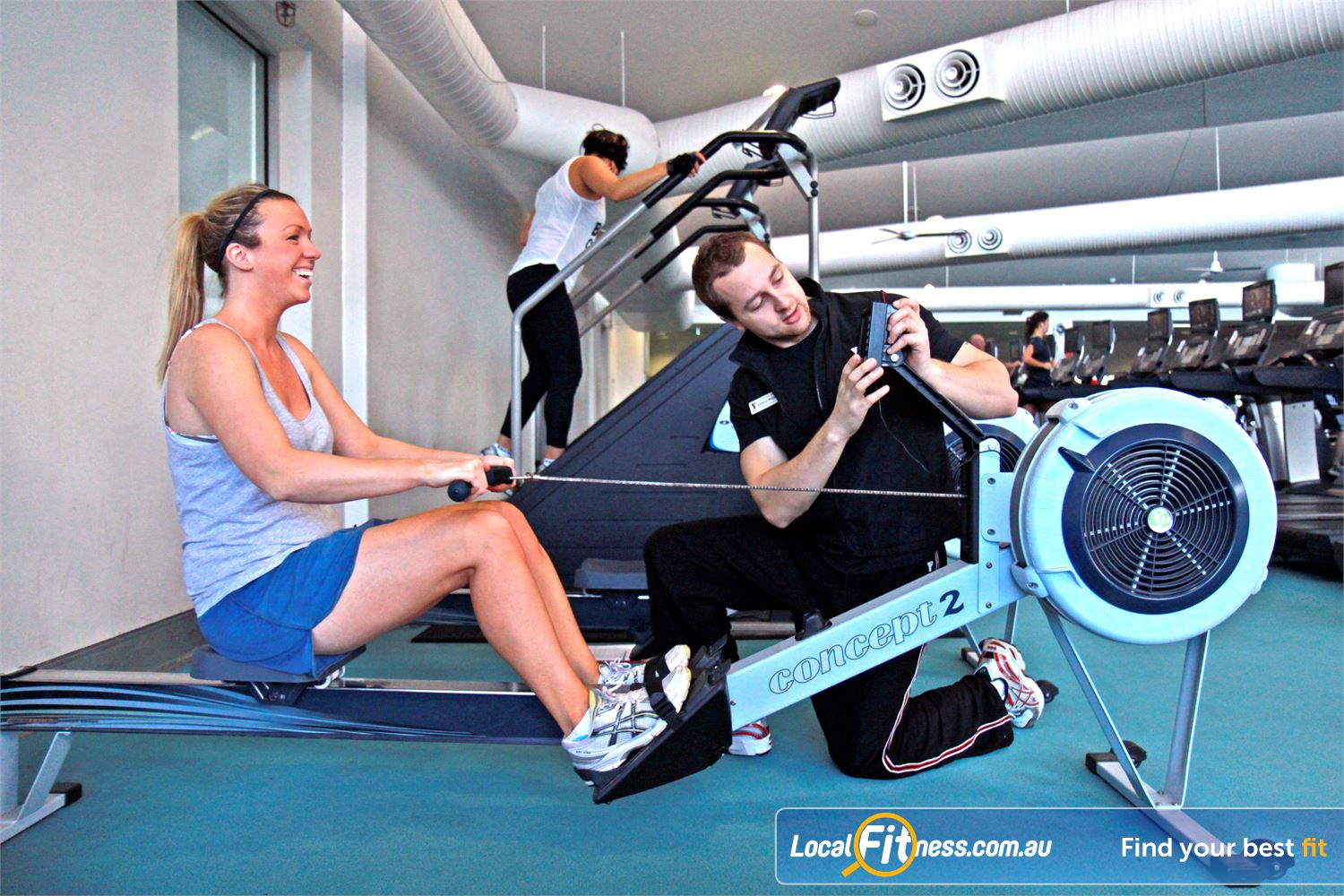 Ascot Vale Leisure Centre Ascot Vale Vary your cardio workout with indoor rowing in Ascot Vale.