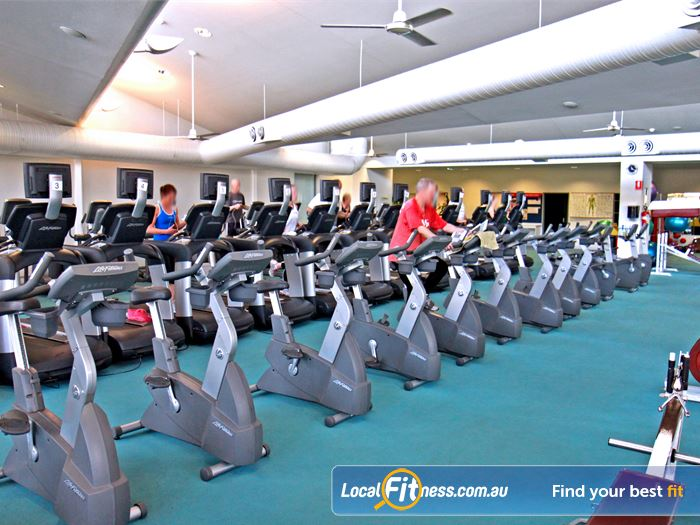 Ascot Vale Leisure Centre Moonee Ponds Gym Fitness The spacious cardio theatre