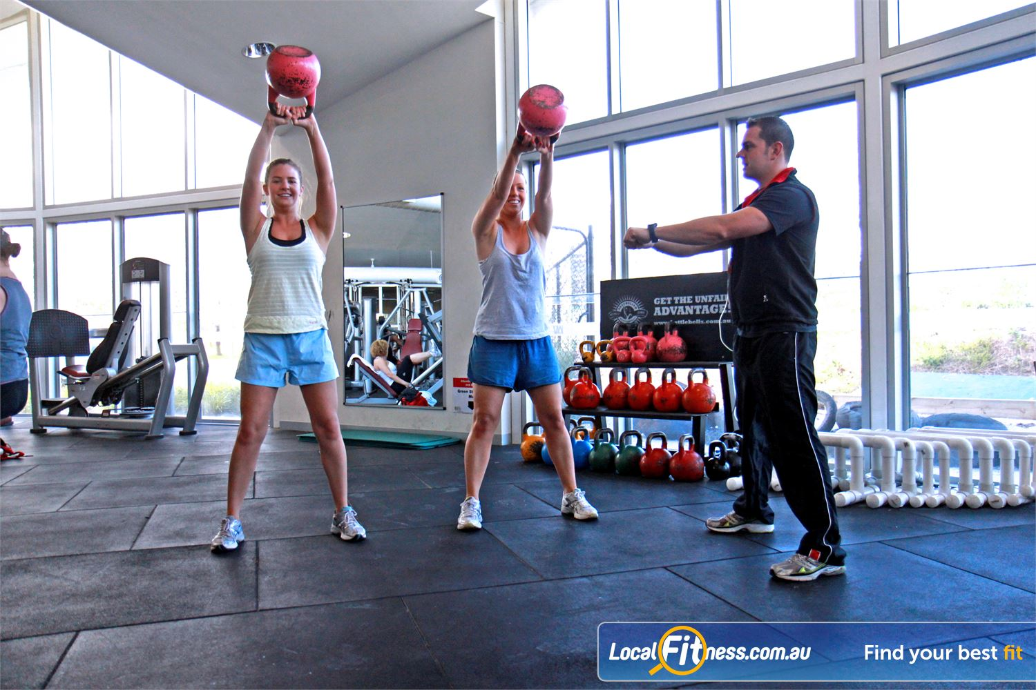 Ascot Vale Leisure Centre Ascot Vale Add variety to your Ascot Vale personal training with Kettle bell training.
