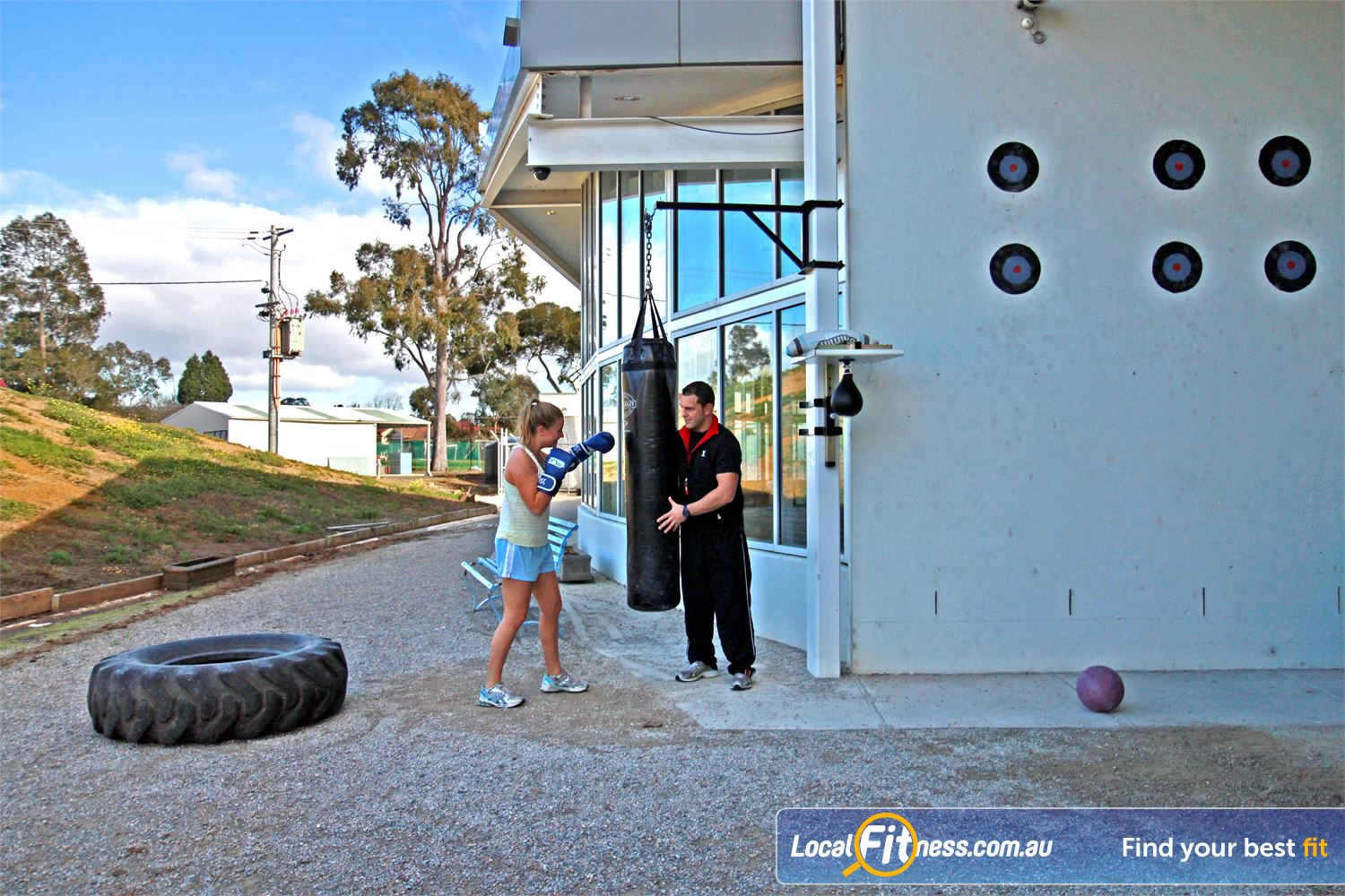 Ascot Vale Leisure Centre Ascot Vale Outdoor boot camp and crossfit training environment in Ascot Vale.