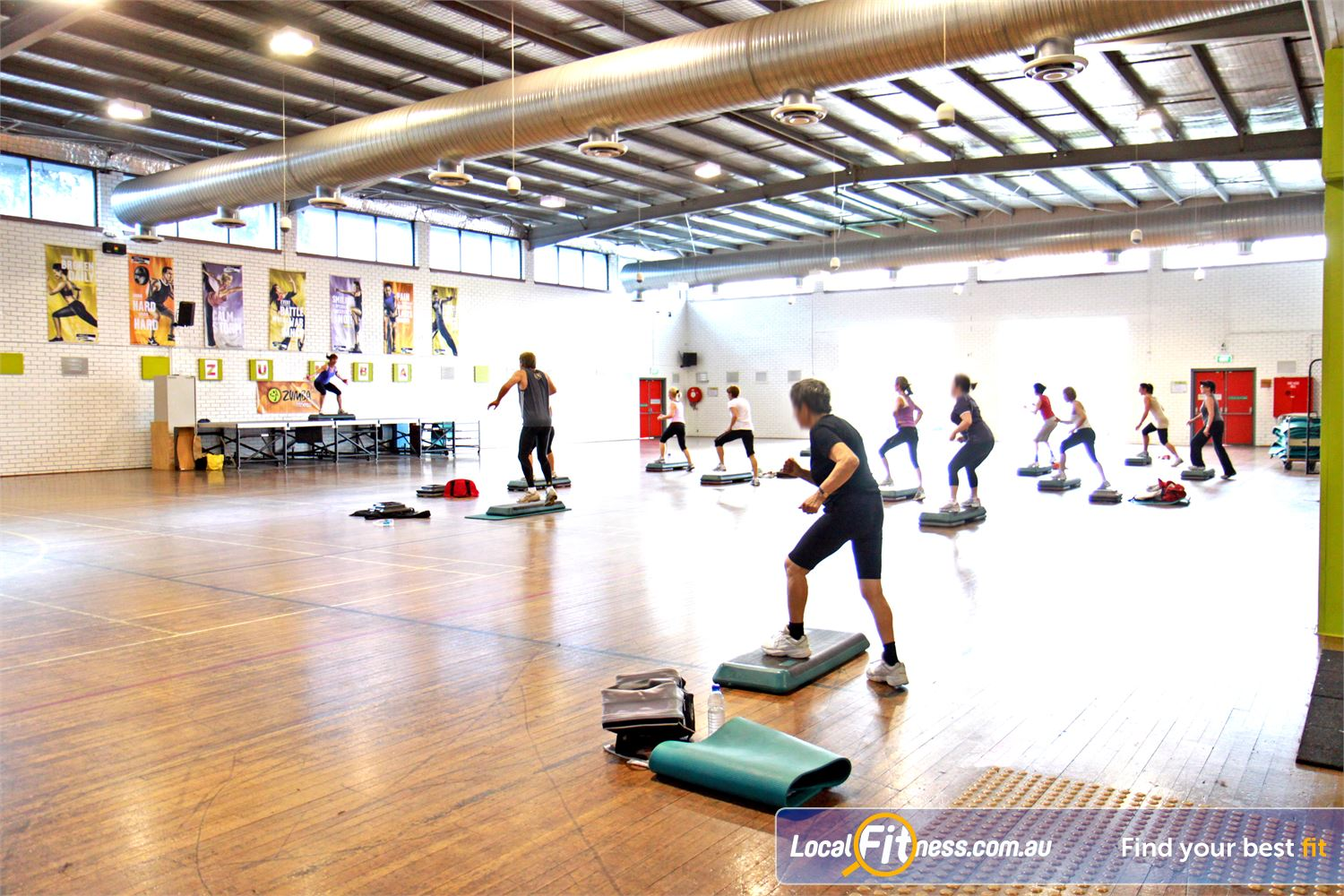 Ascot Vale Leisure Centre Near Moonee Ponds The Ascot Vale group fitness menu includes over 120 classes per week.
