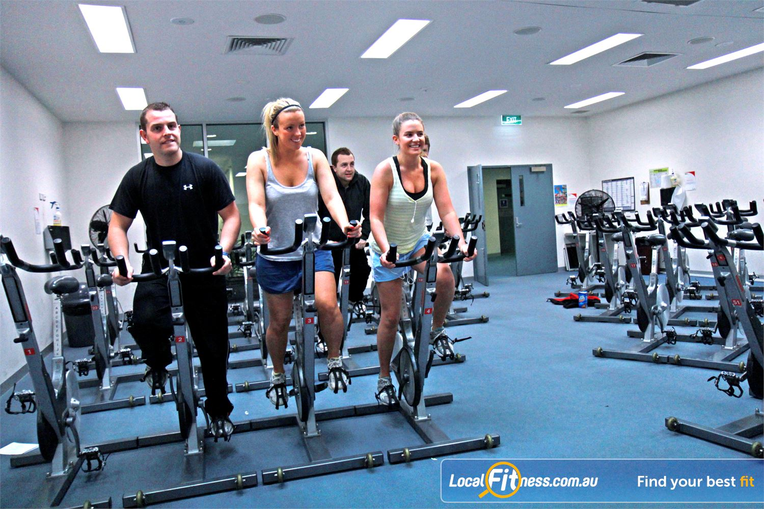 Ascot Vale Leisure Centre Near Aberfeldie Popular classes such as RPM and cycle run daily.