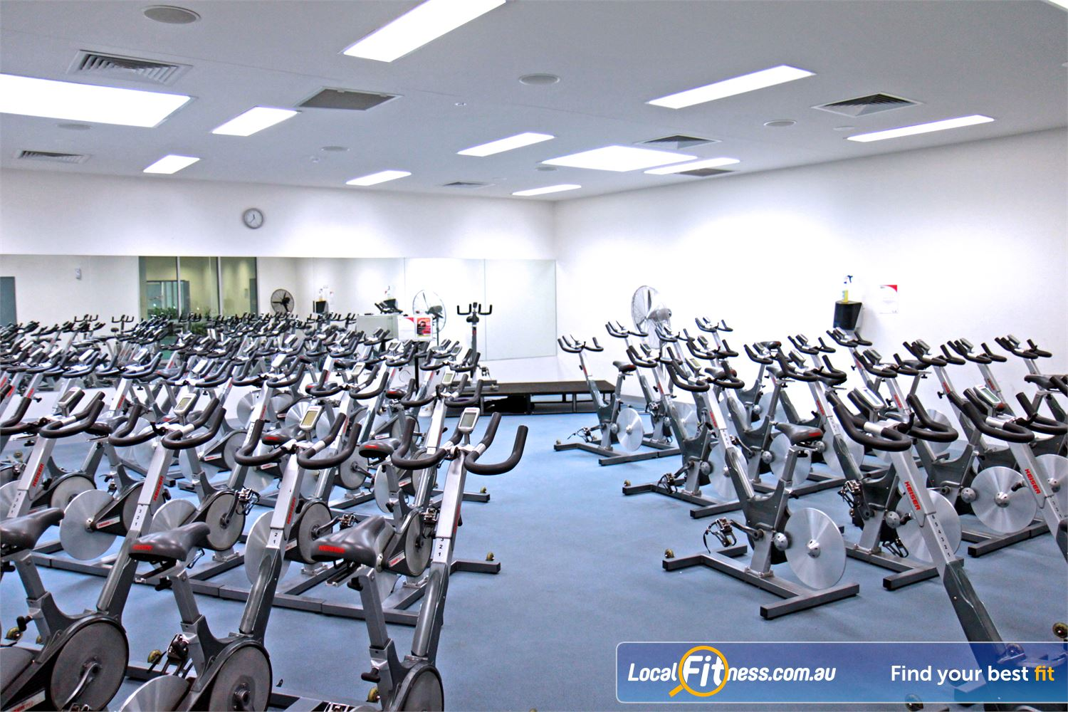 Ascot Vale Leisure Centre Ascot Vale Dedicated Ascot Vale cycle studio.