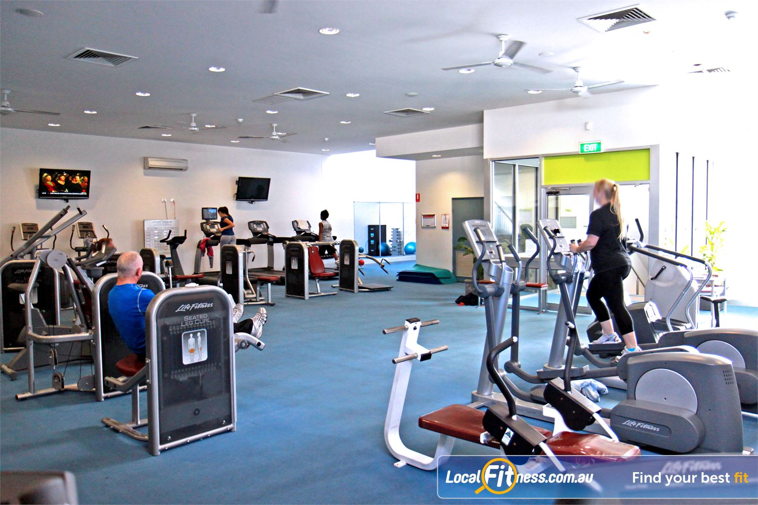 Ascot Vale Leisure Centre Ascot Vale A dedicated cardio and strength training circuit area in Ascot Vale.