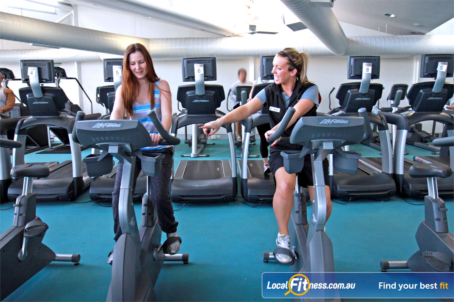 Ascot Vale Leisure Centre Near Aberfeldie Ascot Vale personal trainers provide a safe and enjoyable cardio experience.
