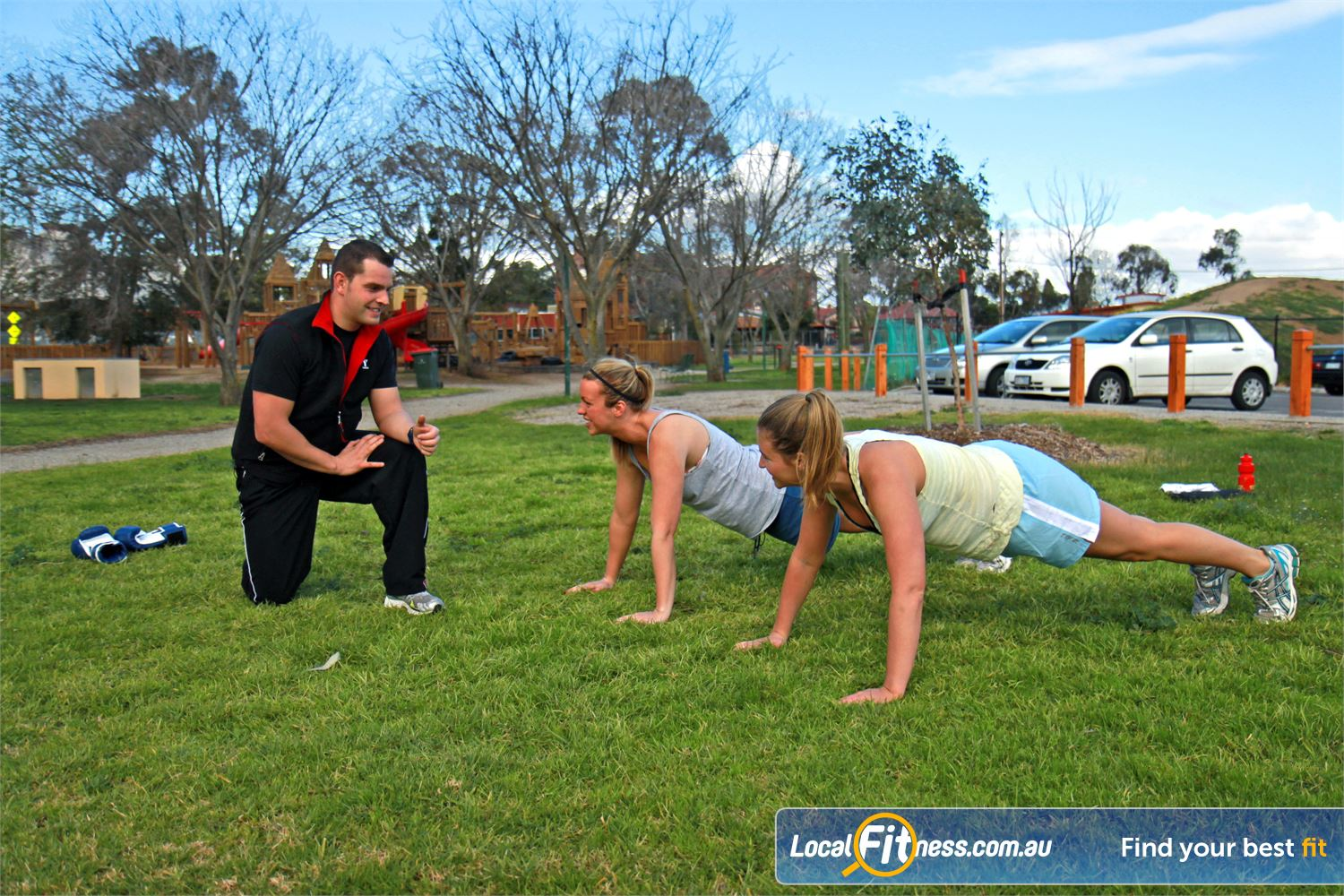 Ascot Vale Leisure Centre Ascot Vale Join our group Ascot Vale personal training programs outdoors in Victory park.