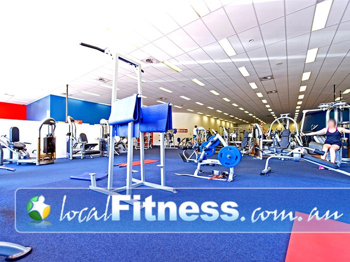 Genesis Fitness Clubs Gym Blackbutt  | The spacious 24 hour gym environment in Albion