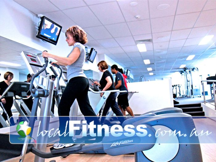 Endurance Health & Fitness Studio Near Strathmore Tune into your favorite show in our cardio area.
