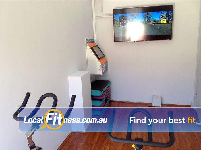 Plus Fitness 24/7 Gym Darlinghurst  | Virtual Waterloo spin cycle classes.