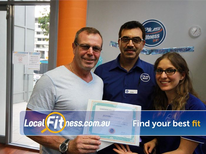 Plus Fitness 24/7 Waterloo We love to award our Plus Fitness Waterloo members for their hard work.