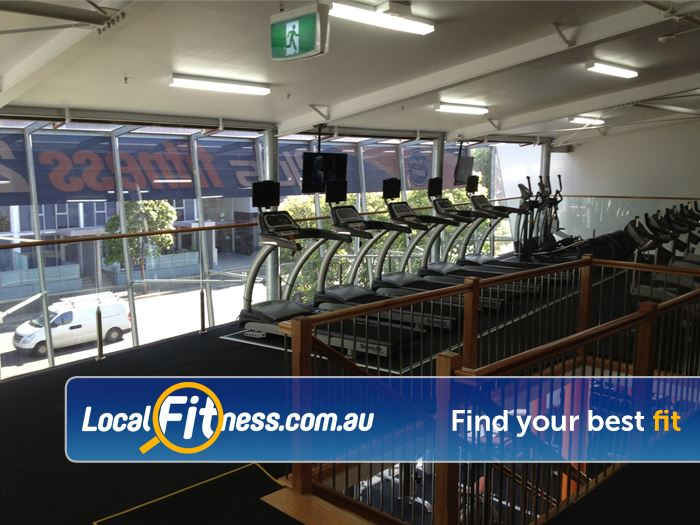 Plus Fitness 24/7 Waterloo Stunning views from our level 2 cardio area.