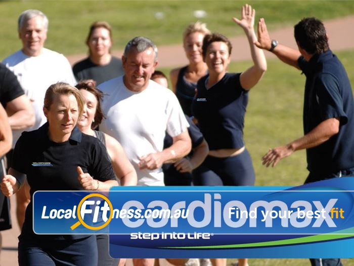 Step into Life Bassendean The ultimate Bassendean outdoor fitness cardio program.