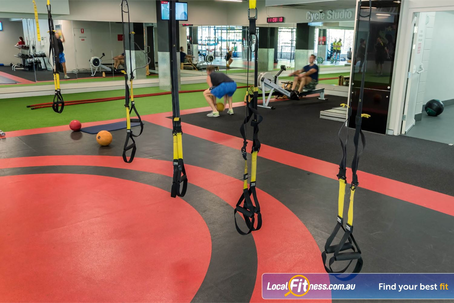 Fitness First Platinum Kings Cross Potts Point The dedicated Kings Cross HIIT gym space includes TRX team training.