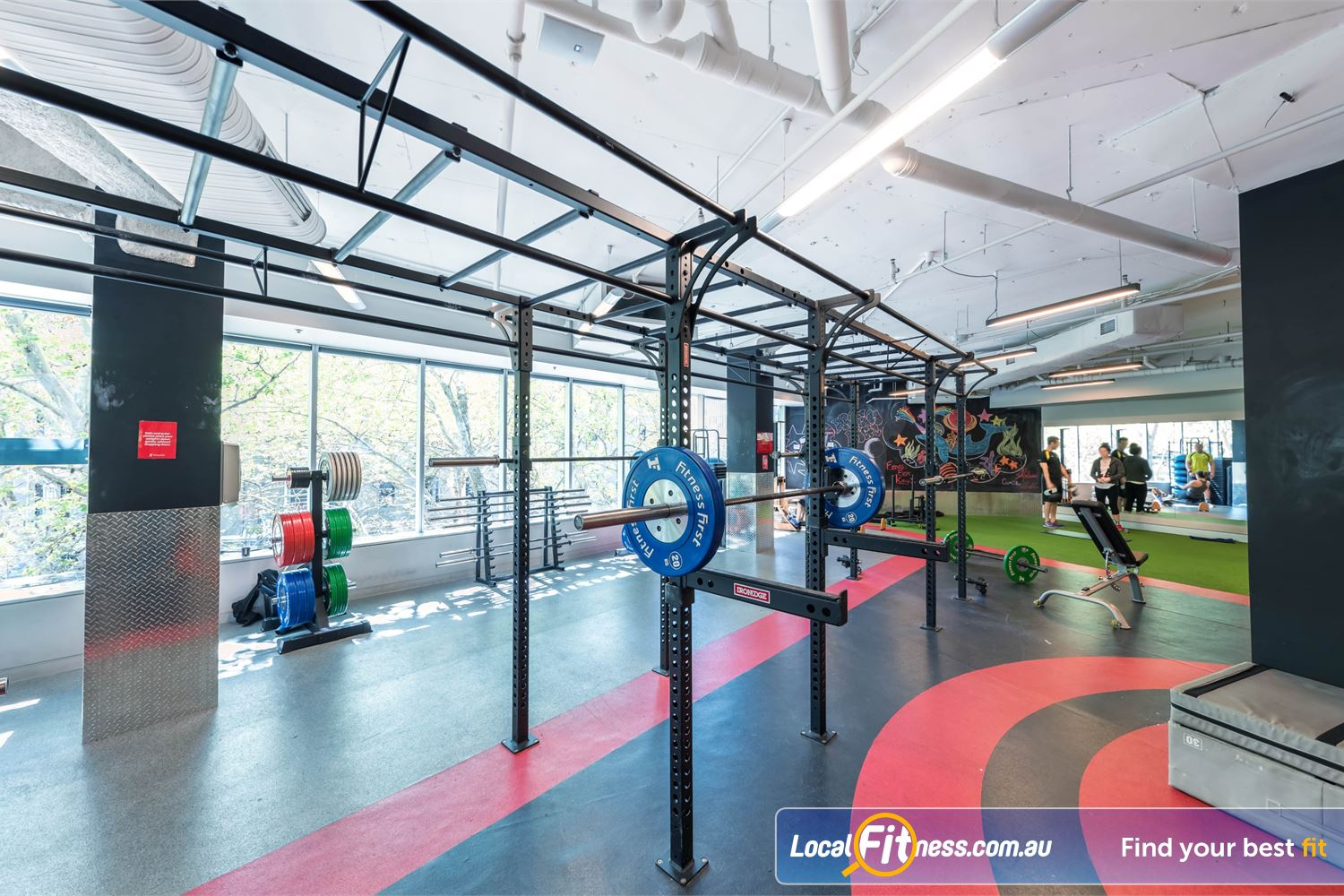 Fitness First Platinum Kings Cross Near Strawberry Hills The high performance strength matrix in our functional training area.