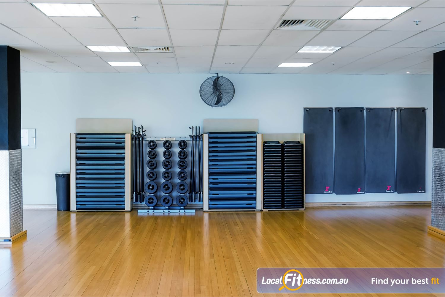 Fitness First Platinum Kings Cross Near Woolloomooloo Our group fitness studio is fully equipped for a full range of Les Mills classes.