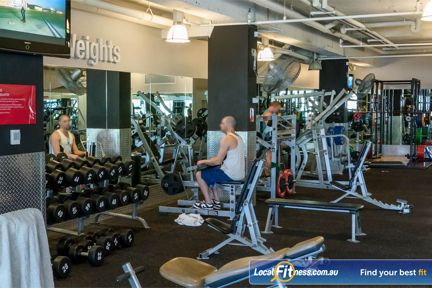 Fitness First Platinum Kings Cross Near Rushcutters Bay Dumbbells, barbells, a full range of adjustable benches and more.