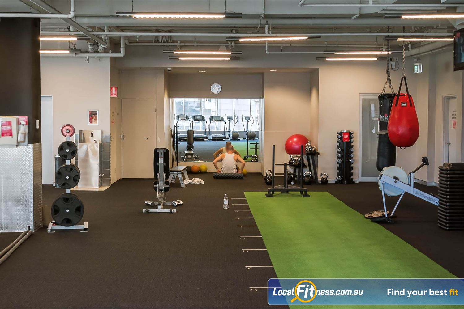 Fitness First Platinum Kings Cross Near Strawberry Hills Our freestyle area provides a Kings Cross boxing setup.