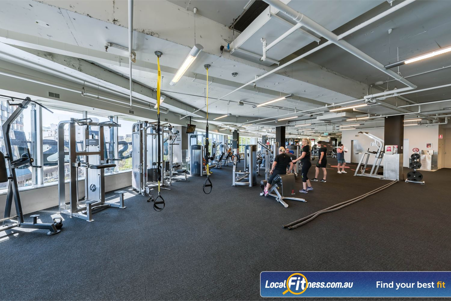 Fitness First Platinum Kings Cross Potts Point Our Kings Cross gym provides phenomenal views of the Sydney Harbour Skyline.