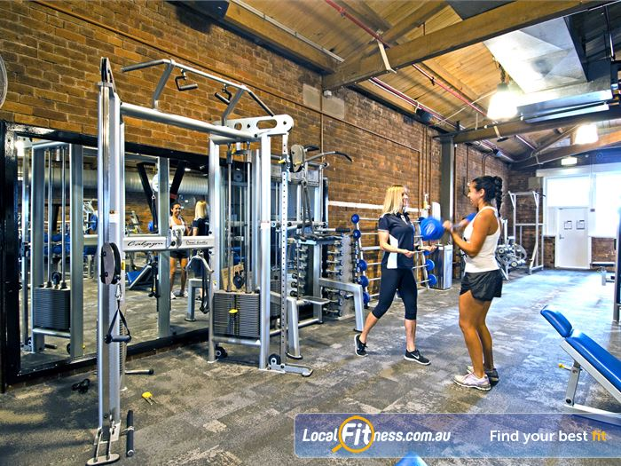 Goodlife Health Clubs Edward St Gym Bardon  | Our Brisbane gym is located in a 3