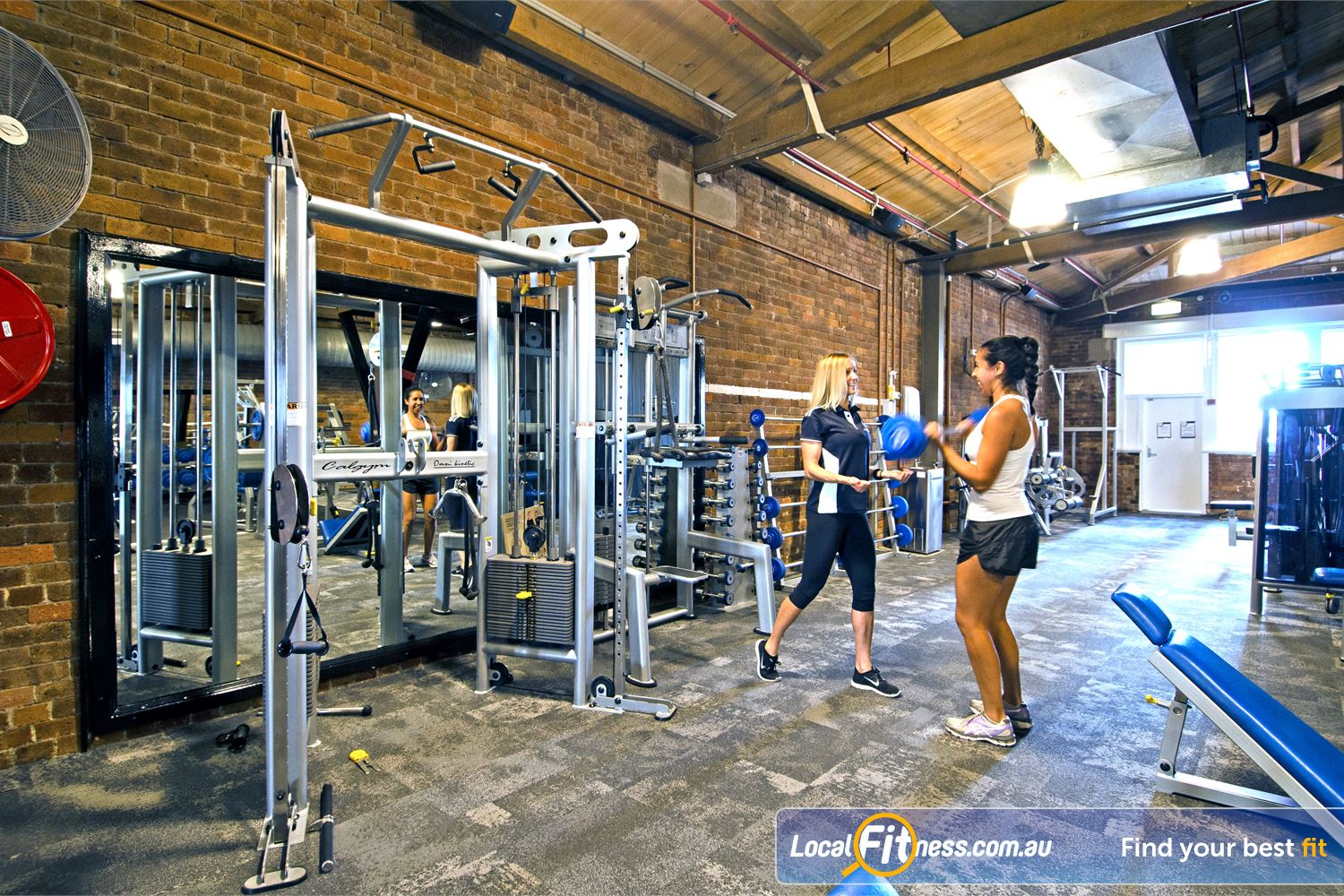 Goodlife Health Clubs Edward St Brisbane Our Brisbane gym is located in a 3 storey heritage listed building providing a unique atmosphere.