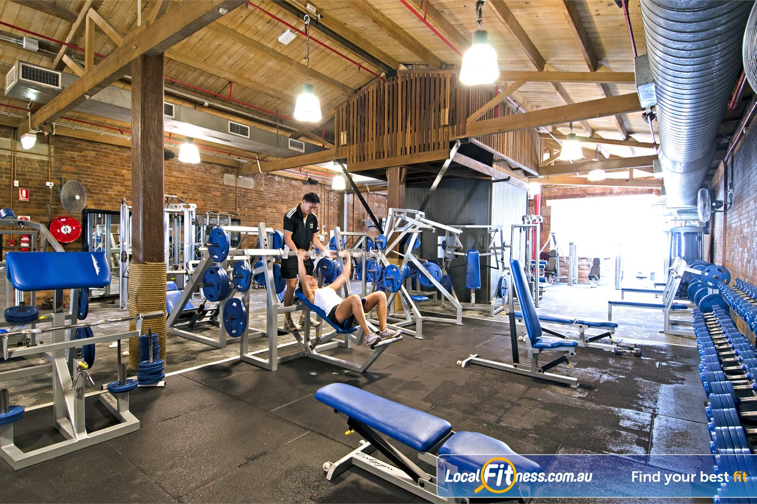 Goodlife Health Clubs Edward St Near Spring Hill At our Brisbane gym, pick from a large selection of free-weights.
