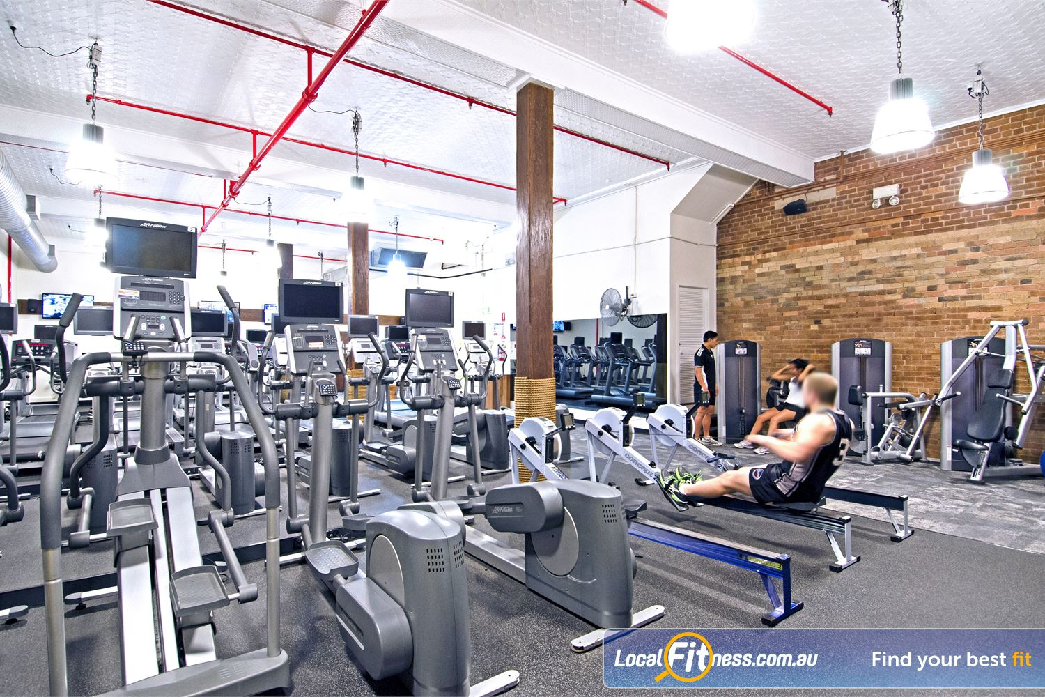 Goodlife Health Clubs Edward St Brisbane Goodlife Edward St Brisbane gym provides multiple machines so you don't have to wait.