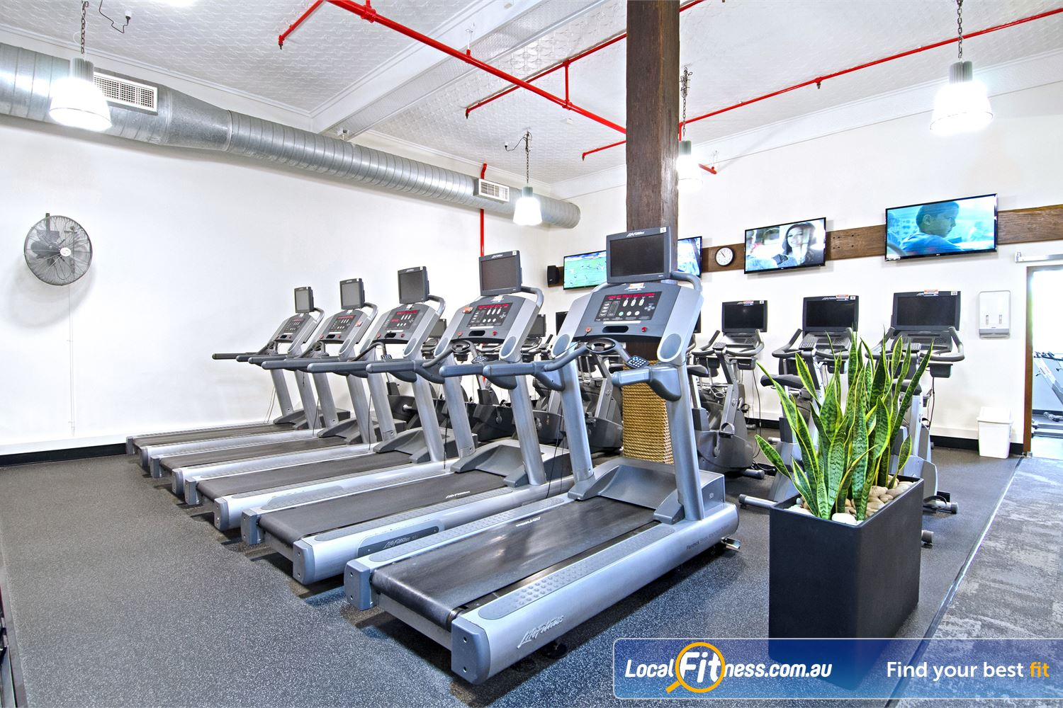 Goodlife Health Clubs Edward St Near Spring Hill Tune into your favorite shows on your personalised LCD screen or cardio theatre.