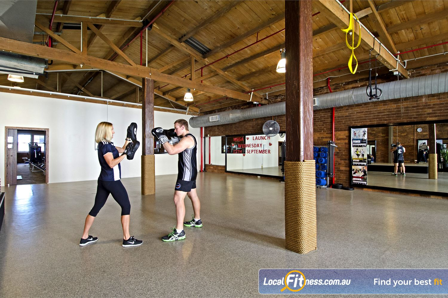 Goodlife Health Clubs Edward St Near George Street Brisbane personal training programs are designed to suit your goals and can include cardio boxing.