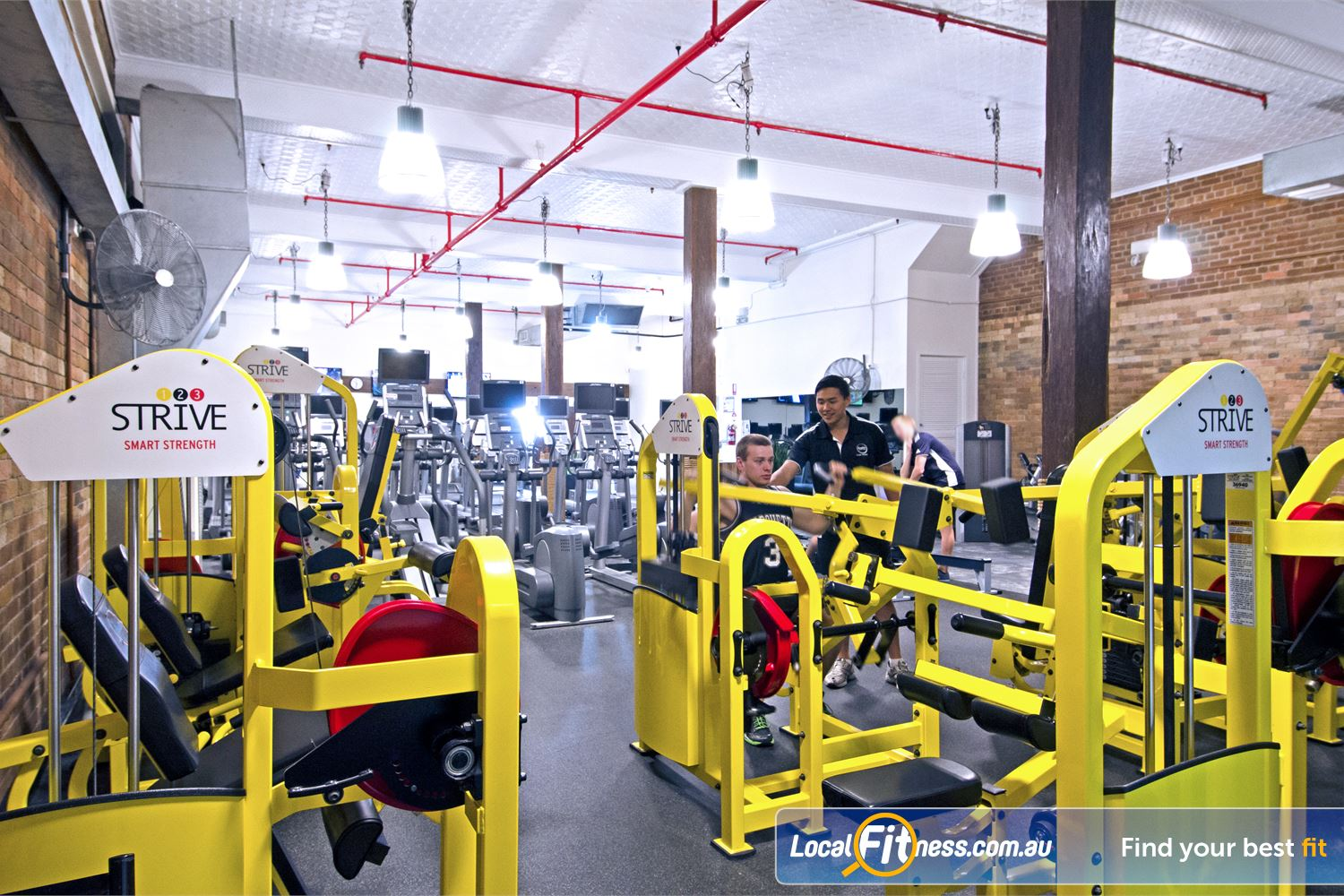 Goodlife Health Clubs Edward St Brisbane Our Edward St Brisbane gym includes the innovative 1-2-3 Strive strength series.