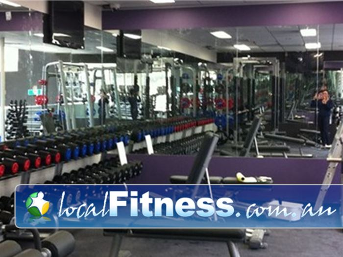 Anytime Fitness Gym Templestowe    Fully equipped Heidelberg gym with the best equipment