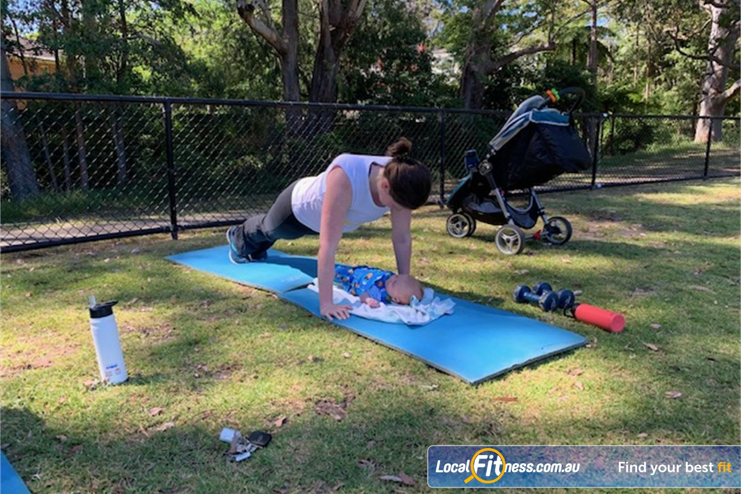 Refresh You Near Wahroonga Refresh YOU outdoor group training caters for all ages and abilities.