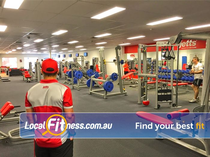 Jetts Gym Airport West  | Work out on your terms at Jetts Coburg