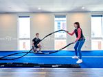 6 Degrees South Health & Fitness Elsternwick Gym Fitness Get functional with battle rope