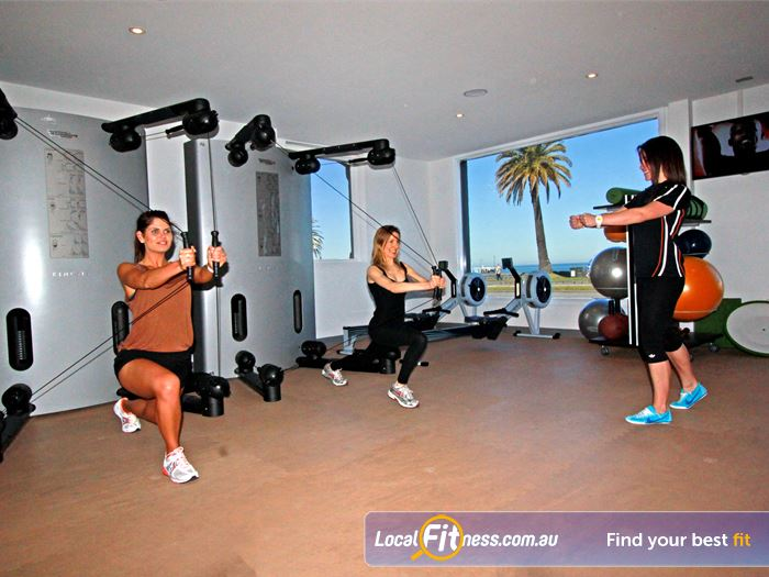 South Pacific Health Clubs HIIT Melbourne  | Featuring the revolutionary Kinesis-One 3D Movement System.